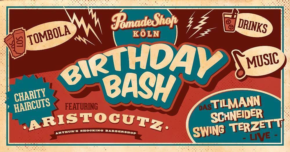 Pomade Shop_Köln_Birthday Bash Live Party mit dem Tilmann Schneider Swing Terzett und Aristocutz